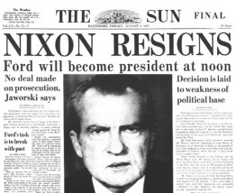 Image result for nixon impeachment vote